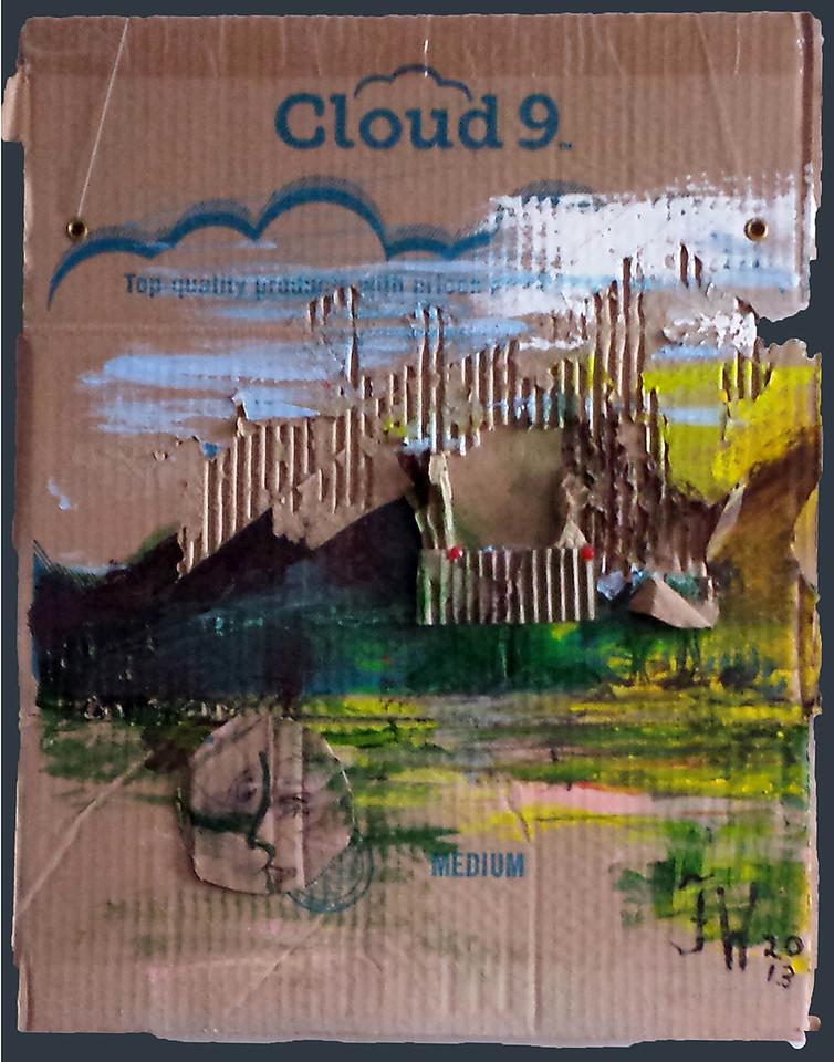 """cloud 9 -23x17 5"""""""