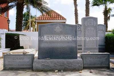 ARUBA, Oranjestad. Jewish Cemetery. (2007)