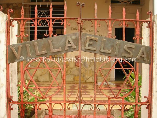 CUBA, Sancti Spiritus. Jose Barlia Loyarte family home, Villa Elisa. (2008)