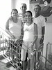 CU-D 193  Daisy and Jose Barlia Loyarte with daughter, Ivonne, and R, Julito Rodrigues Eli