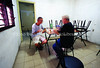 CU 1333  L to R  Julito Rodrigues Eli and David Tacher Romano, president of the Santa Clara community
