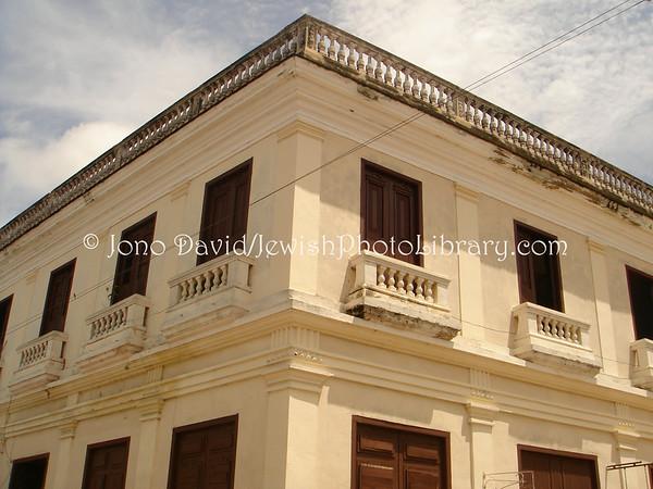 CUBA, Santa Clara. Former Santa Clara synagogue. (2008)