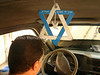CU-D 354  Star of David in the community van
