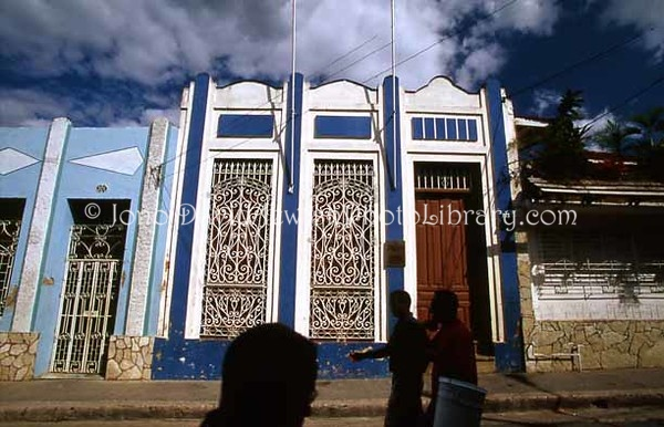 CUBA, Santiago de Cuba. Comunidad Hebrea Hatikva Synagogue & Community Center. (2002)