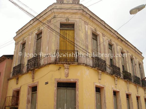CUBA, Santiago de Cuba. Old synagogue (ruins). (2008)