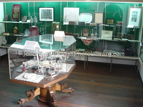 CURACAO, Willemstad. Jewish Historical Cultural Museum (JHCM) @ Mikve Israel-Emanuel Synagogue. (2007)
