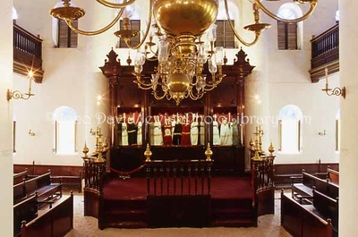 CURACAO, Willemstad. Mikve Israel-Emanuel Synagogue (the oldest congregation in the Americas, est. 1651; synagogue built in 1732). (2007)