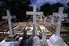 DO 76  Jewish graves lie behind the crosses