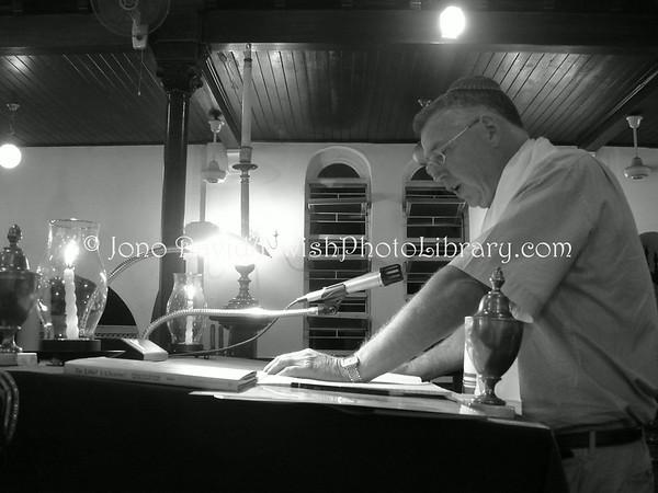 JAMAICA, Kingston. Shaare Shalom Synagogue. Shabbat services and kiddish. (Friday, 5 September 2008)