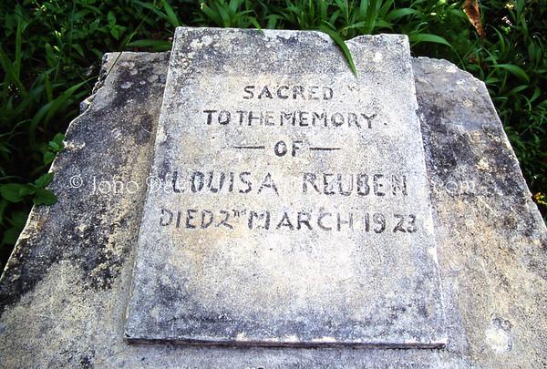 JAMAICA, Montego Bay. Jewish Cemetery. (2008)
