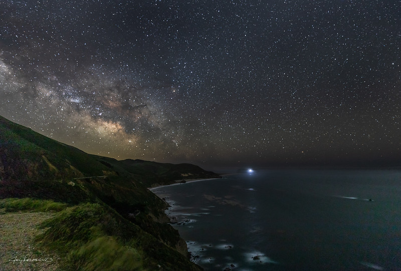 Point Sur Lighthouse Astral