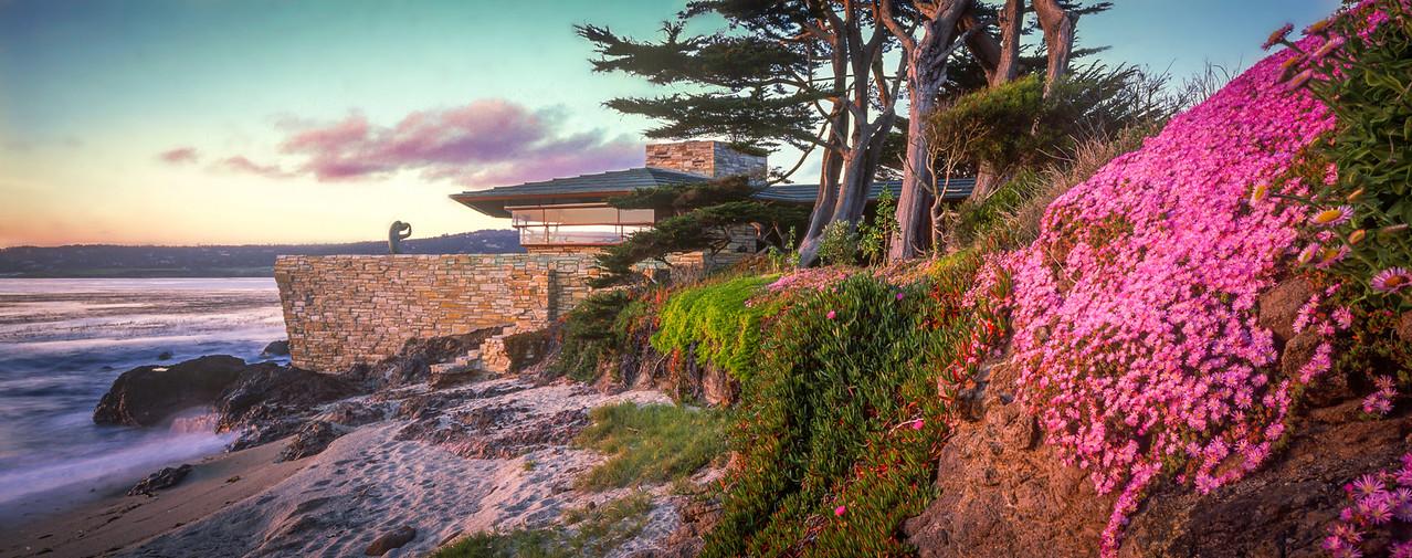 The only beach house designed by Frank Lloyd Wright, Carmel Beach