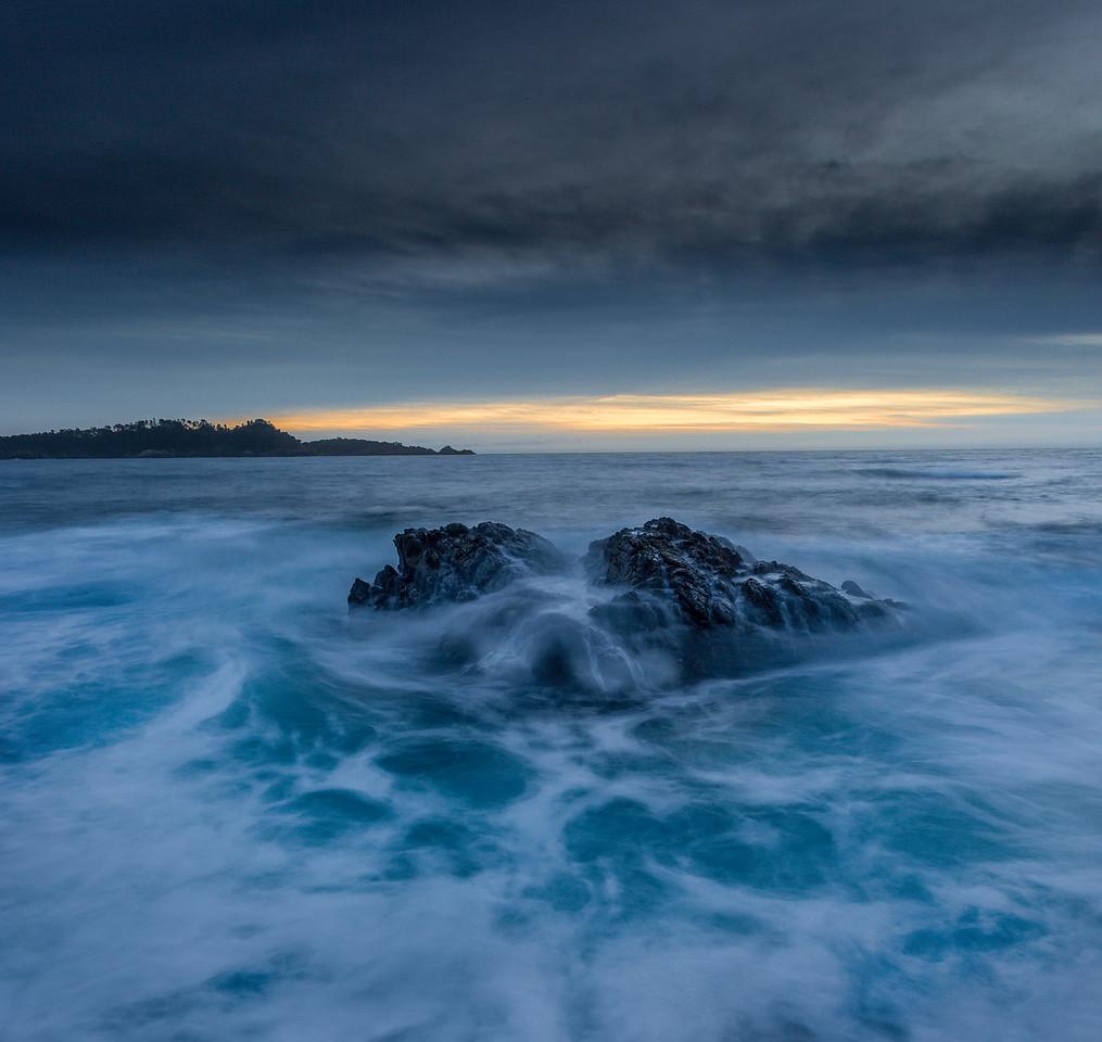 Pt Lobos in Seascape blue