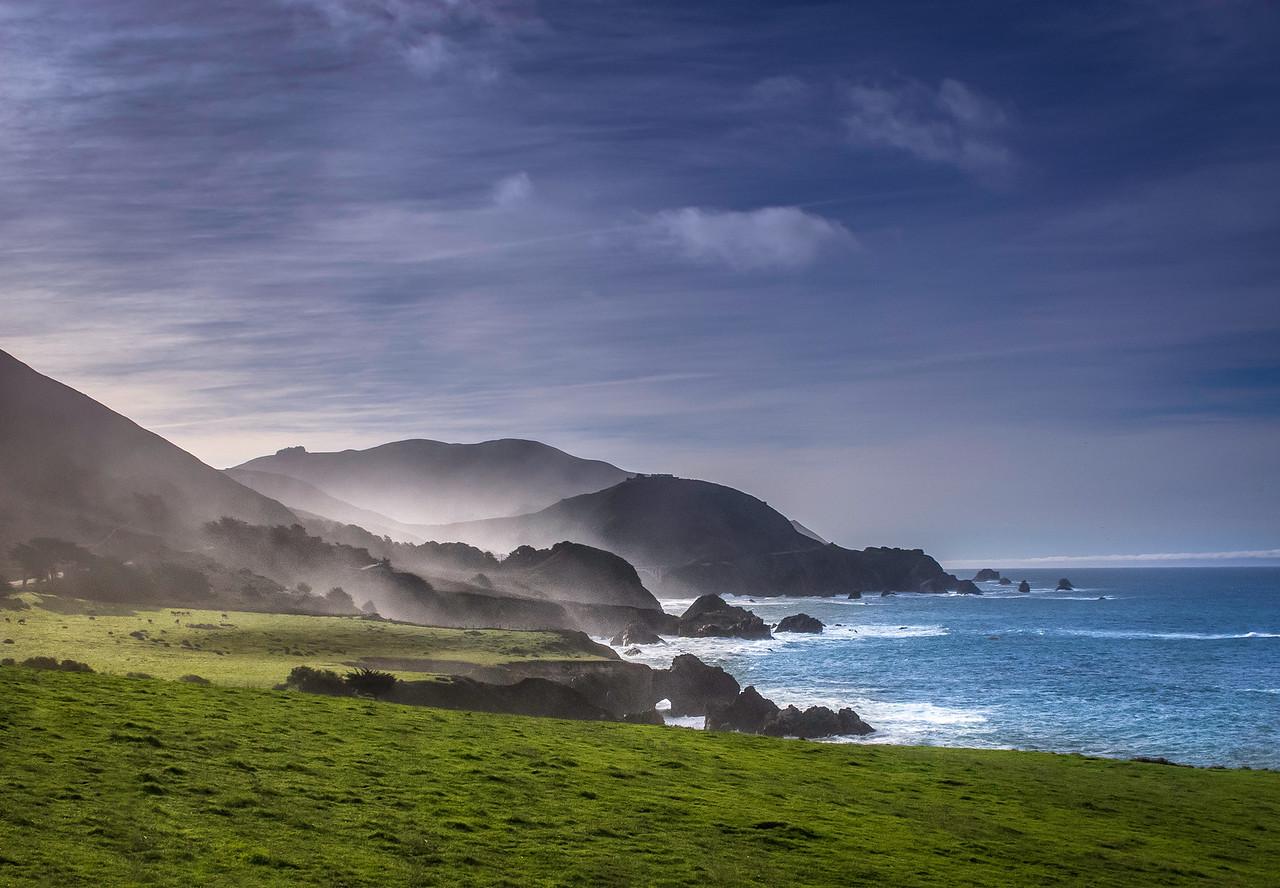 Big Sur coastline at Rocky Pt