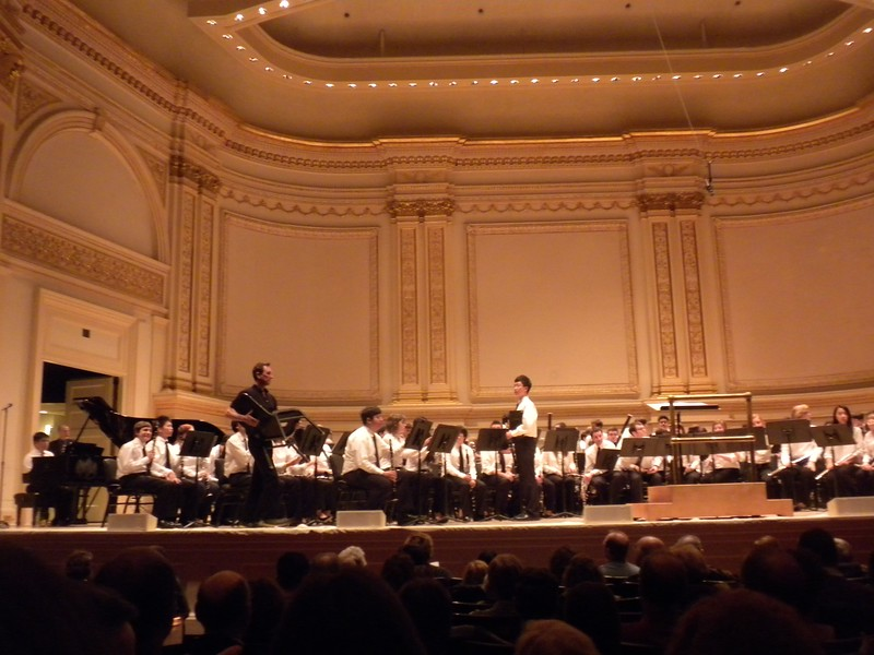 Paul practicing for his performance at Carnegie Hall on February 10, 2013 @ 8:00 PM