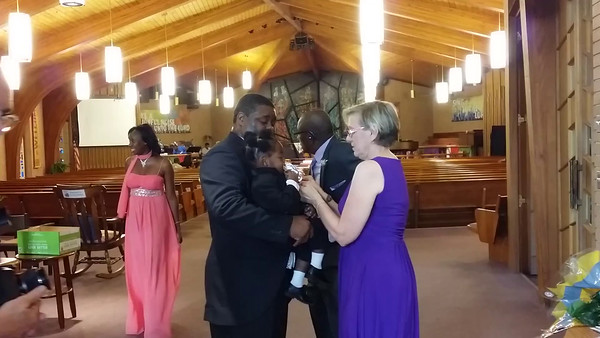 PROPHET CARNELL E. BUTLER & ROSHAUN A RENO BECOME HUSBAND & WIFE AT THEIR WEDDING ON FRIDAY, AUGUST 7, 2015 AT 7 PM AT LAKEWOOD UNITED METHODIST CHURCH IN ST. PETERSBURG, FLORIDA