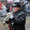 Rainy weather for Lord Mayor's show.