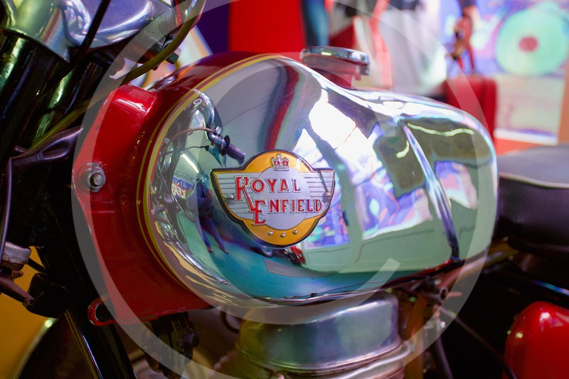 Royal Enfield 250 Continental 1964. Cotswold Motoring Museum, Bourton-on-the-Water