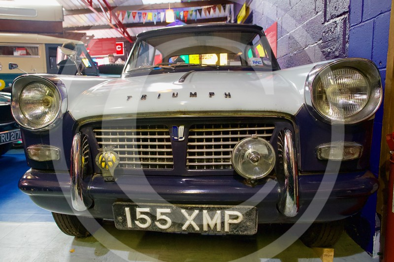 Triumph Herald 948 1962. Cotswold Motoring Museum, Bourton-on-the-Water