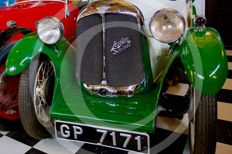 Austin 7 Swallow 1929. Cotswold Motoring Museum, Bourton-on-the-Water