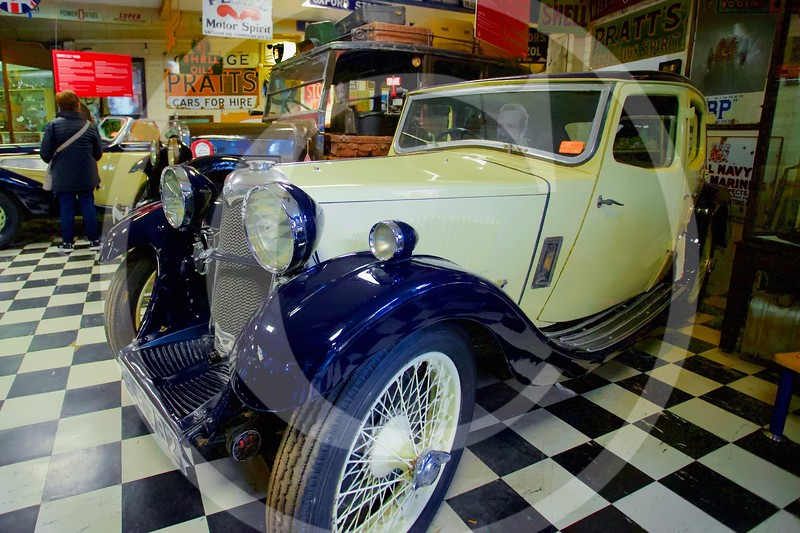 Riley Kestrel 1935. Cotswold Motoring Museum, Bourton-on-the-Water