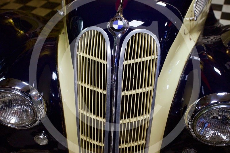 BMW 327 1938. Cotswold Motoring Museum, Bourton-on-the-Water