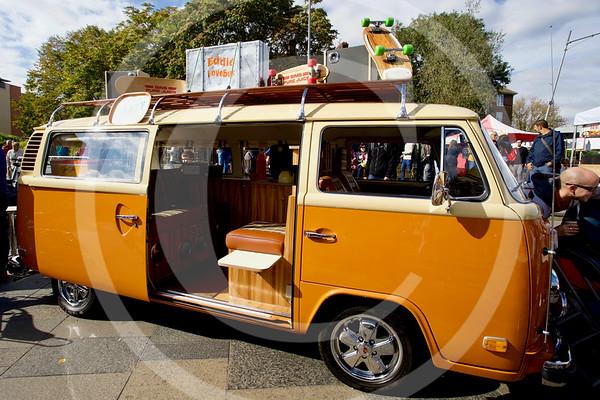 1976 Volkswagen Type 2 Combi, Greenwich, London.