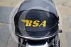 BSA motorcycle, Greenwich, London.