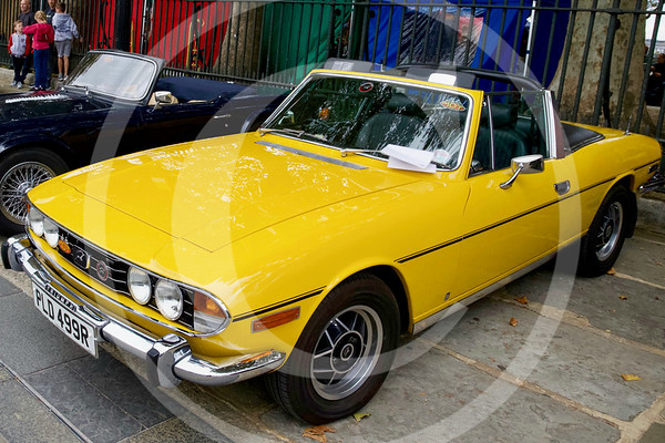 1974 Triumph Stag 3.0, Greenwich, London.
