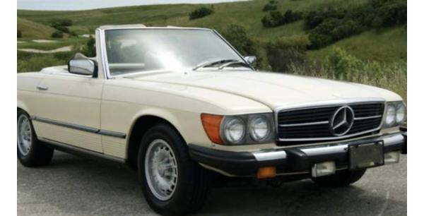 1978 Mercedes Benz 450 SL