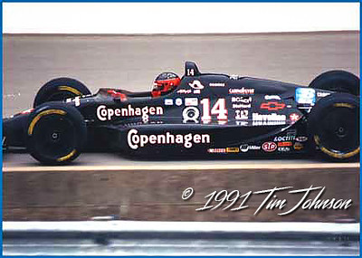 A.J. Foyt #14 at the 1991 Indy 500, Indianapolis Motor Speedway