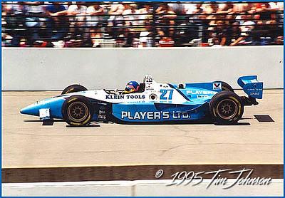 Jacques Villenuve #27 - 1995 Indy 500 Winner
