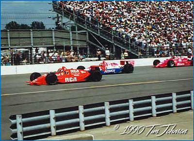 Tom Sneva #9 & Scott Brayton #22 - 1990 Indy 500