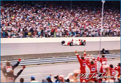 Rick Mears wins the 1991 Indy 500