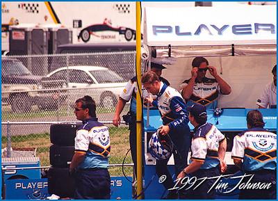 Greg Moore at Gateway International Speedway - 1997