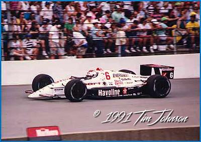 Mario Andretti #6 - 1991 Indy 500