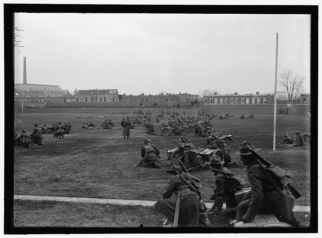 Library of Congress<br /> <br /> MARINE CORPS, U.S.N. MACHINE GUN UNIT 1917