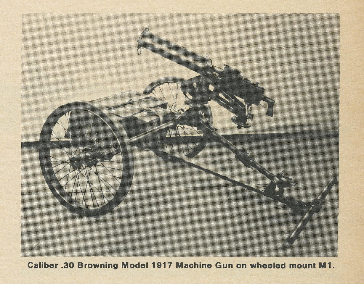 M1 MACHINE GUN MOUNT<br /> <br /> SCANNED FROM THE BOOK<br /> SMALL ARMS OF THE WORLD<br /> <br /> (CRAIG JOHNSON COLLECTION)