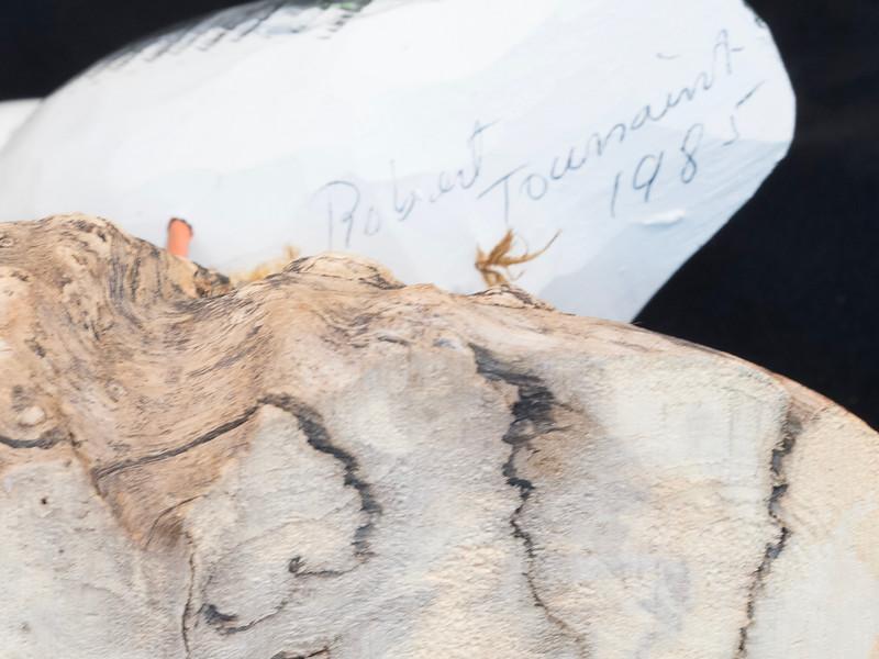 Puffin by Robert Toussaint 1985 7.65x5.75x5 inch