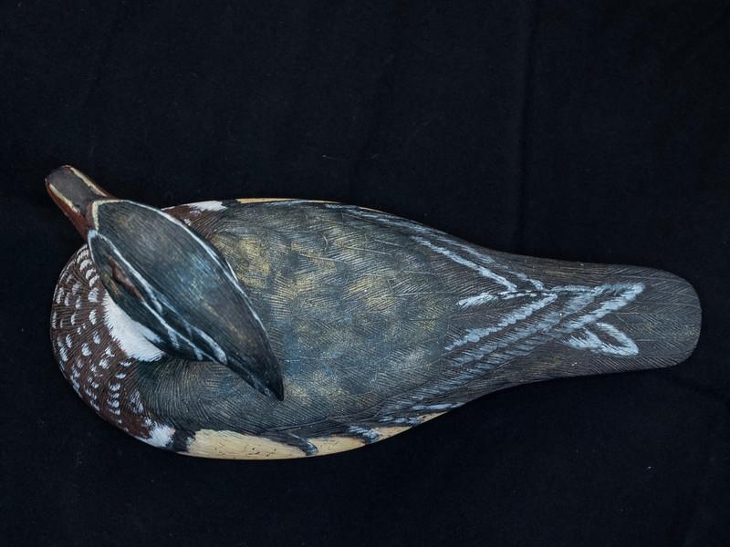 Wood Duck  #230by Johnny L. Jenkins 2-7-1982 4.75x3.25x8 inch