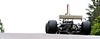 #26 1974 Lola T370 Graham Hill car crests at Turn 6-Recovered