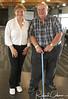 Madame Joann Villeneuve and Wally Nesbitt standing