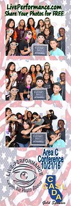 CASL Area C Conference 10/21/16 - EYE Photo Booth Photo Strips
