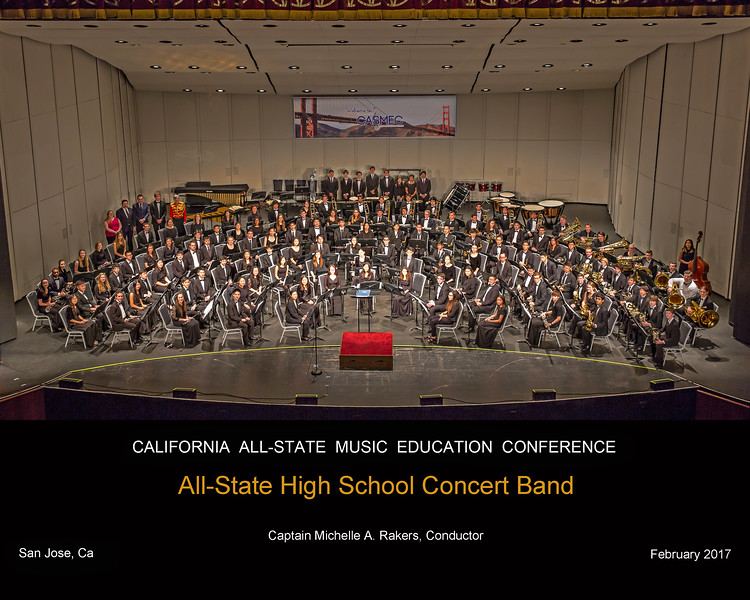 ALL STATE HIGH SCHOOL CONCERT BAND