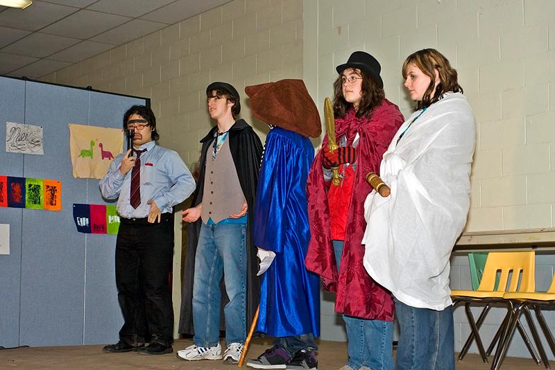 Cocheco Arts & Technology Academy Christmas play