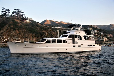 An 85 year old widow was living alone on this yacht after her husband passed