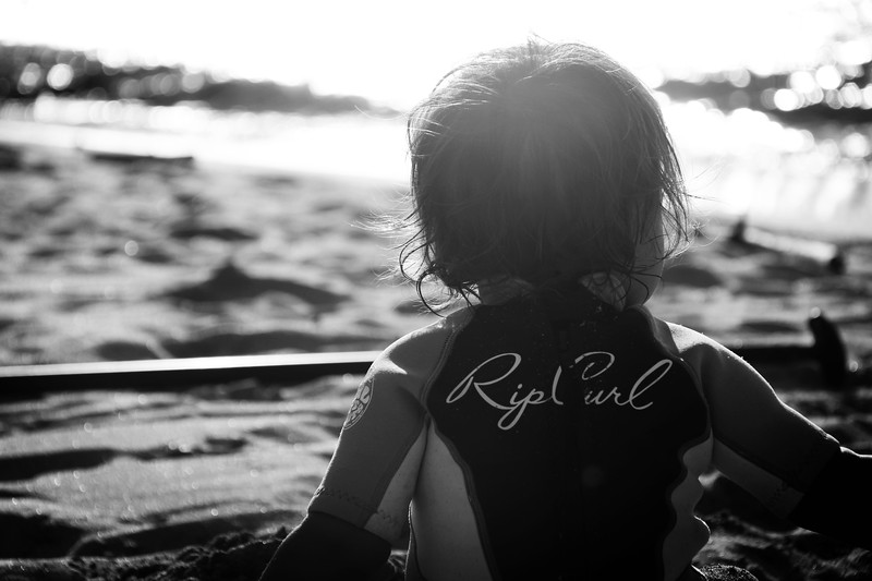 Baby in a Wetsuit