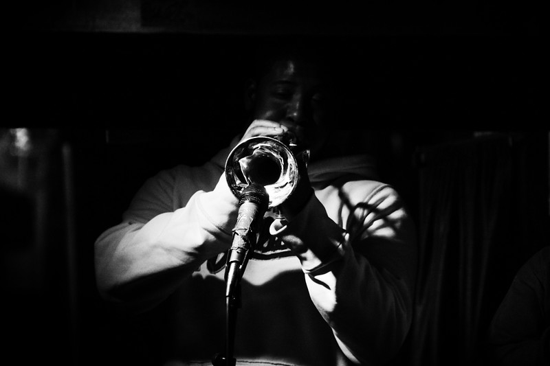 New Orleans Trumpet Player
