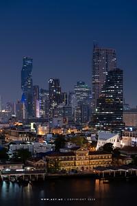 Bangkok Cityscape view from Fallabella, ICONSIAM