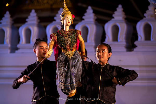 Nataya Bangkok, Traditional Thai Puppet Performance, the 150th Anniversary of Wat Ratchabophit